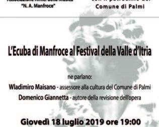 L'Ecuba di Manfroce al Festival della Valle d'Itria