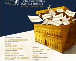 L'Ecuba di Manfroce a Martina Franca